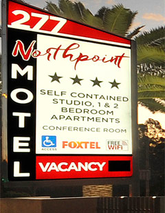 Accommodation Toowoomba - Northpoint Motel - 277 New England Highway Toowoomba QLD